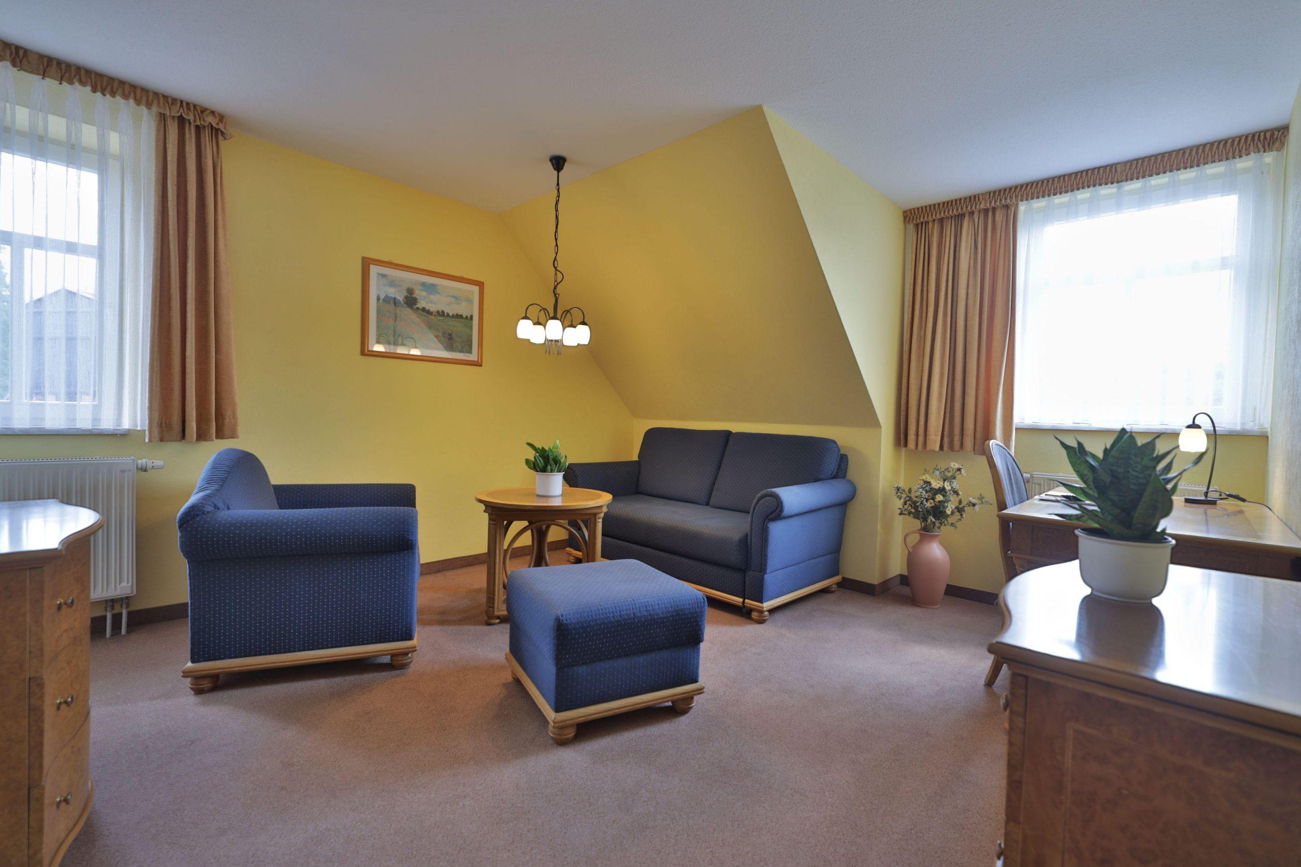 Zimmer 32 Wohnbereich