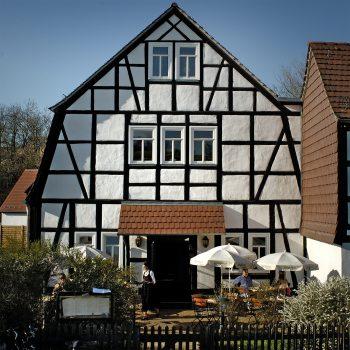 Eingang Restaurant Scheune
