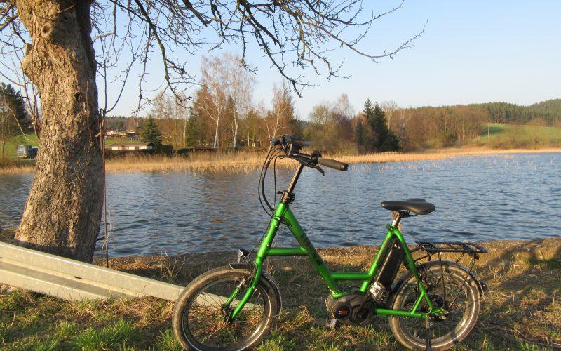 Mit dem E-Bike durchs Saaleland
